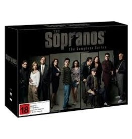 TV on DVD/Bluray The Sopranos Complete Series DVD 2500 USED