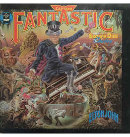 (Used LP) Elton John – Captain Fantastic And The Brown Dirt Cowboy (568)