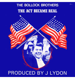 (Used LP) The Bollock Brothers – The Act Became Real (568)