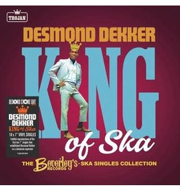 """Record Store Day 2021 (LP) Desmond Dekker - King Of Ska: The Early Singles Collection 1963 -1966 (10 X 7"""" Box Set) RSD21"""