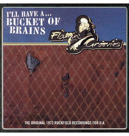 "Record Store Day 2021 (LP) Flamin' Groovies - Bucket Of Brains (10"") RSD21"