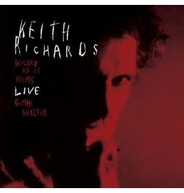 """Record Store Day 2021 (LP) Keith Richards - Wicked As It Seems Live (7"""" Single)"""