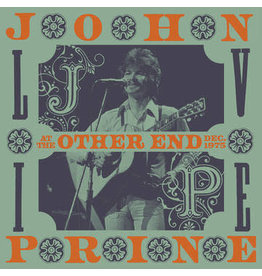 Record Store Day 2021 (LP) John Prine - Live At The Other End, December 1975 (4LP) RSD21