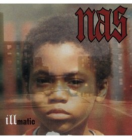 (LP) Nas - Illmatic (Clear Vinyl Edition/2021)