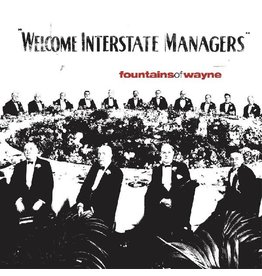 (LP) Fountains of Wayne - Welcome Interstate Managers (Red Vinyl Edition)
