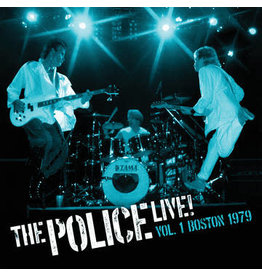 Black Friday 2021 (LP) Police - Live Boston Vol .01 (2LP blue vinyl) BF21