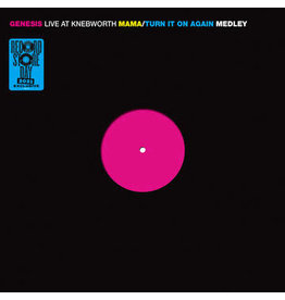 "Record Store Day 2021 (LP) Genesis - Live at Knebworth (12"" EP) RSD21"