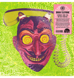 Record Store Day 2021 (LP) Frankie and The Witch Fingers - Brain Telephone (Pink & White Splatter) RSD21