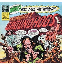 Record Store Day 2021 (LP) Groundhogs - Who Will Save The World? (Deluxe Edition) RSD21