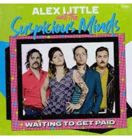 (LP) Alex Little And Suspicious Minds - Waiting To Get Paid (Sky Blue Vinyl)