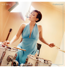(LP) KD Lang - Makeover (Transparent Turquoise)