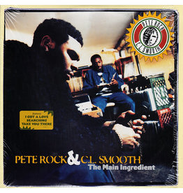 (LP) Pete Rock  & C.L. Smooth - The Main Ingredient (2LP-clear vinyl)