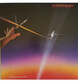 "(Used LP) Supertramp ‎– ""...Famous Last Words..."" (568)"