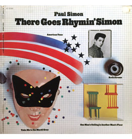 (Used LP) Paul Simon ‎– There Goes Rhymin' Simon (568)