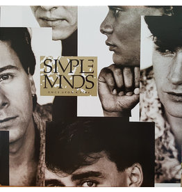 (Used LP) Simple Minds ‎– Once Upon A Time (568)