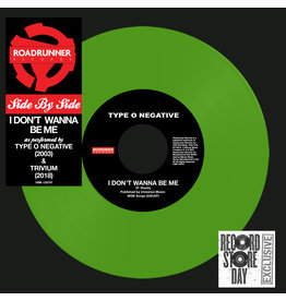 """(LP) Type O Negative/Trivium - Side By Side: I Don't Wanna Be Me (7"""") BF18"""