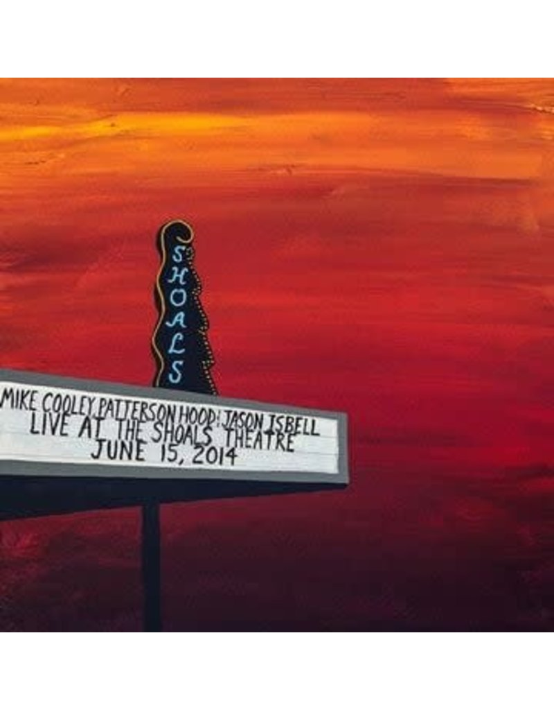 The Orchard (LP) Mike Cooley, Patterson Hood & Jason Isbell - Live At The Shoal Theatre (4LP/Translucent Blue & Red Vinyl)