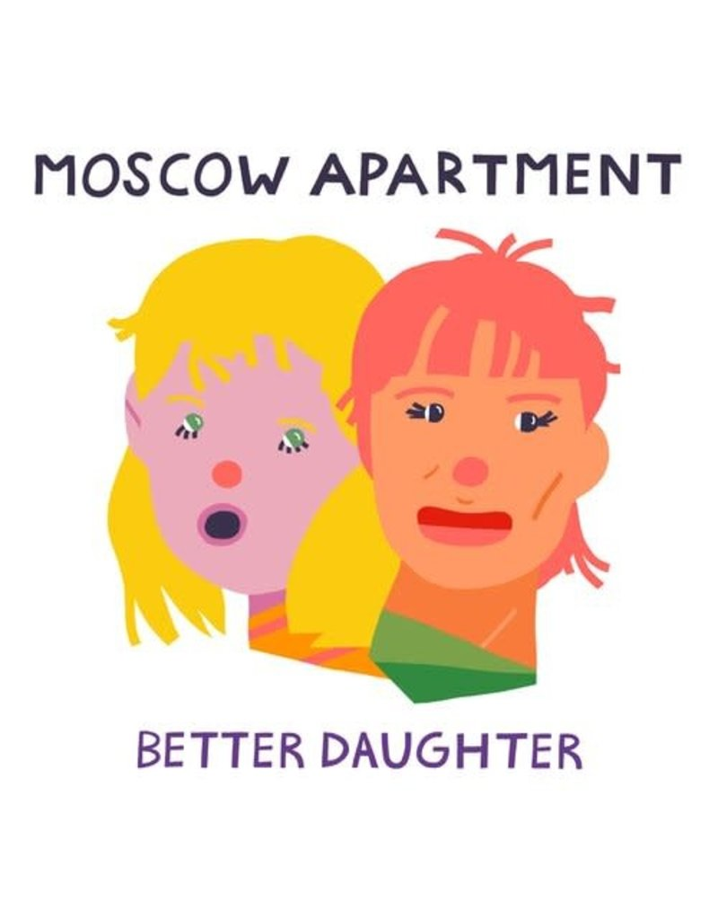 Self Released (LP) Moscow Apartment - Better Daughter (Yellow Vinyl)