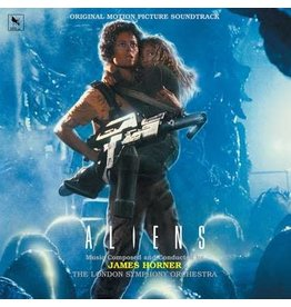 Record Store Day 2021 (LP) Soundtrack - James Horner - Aliens (35th anniversary Edition) (Yellow/Green LP) RSD21