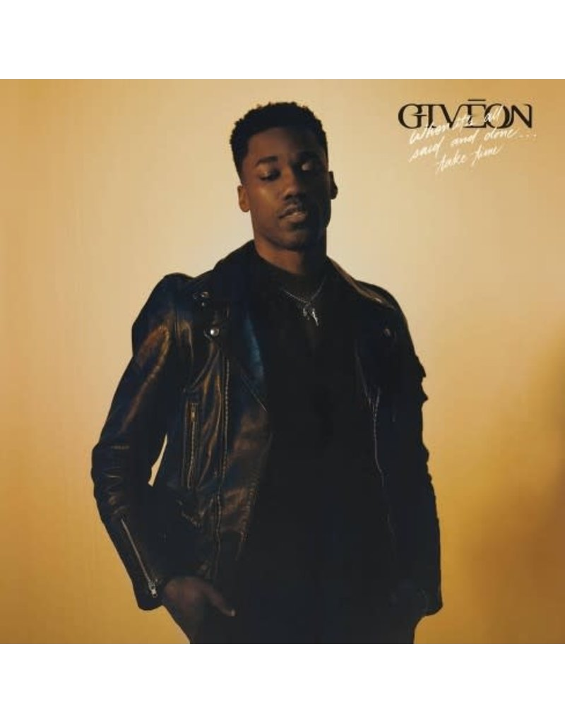 (LP) Giveon - When It's All Said And Done... Take Time