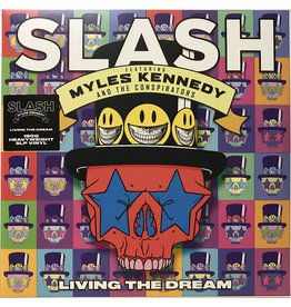 (Used LP) Slash, Featuring Myles Kennedy & The Conspirators - Living The Dream (2xLP, Album, 180)