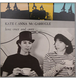 (Used LP) Kate & Anna Mc Garrigle – Love Over And Over (568)