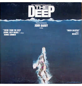 (Used LP) John Barry – The Deep (Music From The Original Motion Picture Soundtrack) (568)