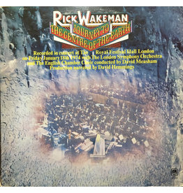(Used LP) Rick Wakeman – Journey To The Centre Of The Earth (568)