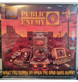 (Used LP) Public Enemy - What You Gonna Do When The Grid Goes Down?