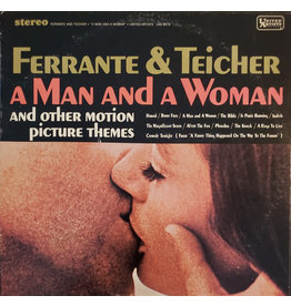 (Used LP) Ferrante & Teicher – A Man And A Woman (And Other Motion Picture Themes) (LL) (568)