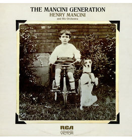 """(Used LP) Henry Mancini And His Orchestra – Music From The TV Series """"The Mancini Generation"""" (568)"""