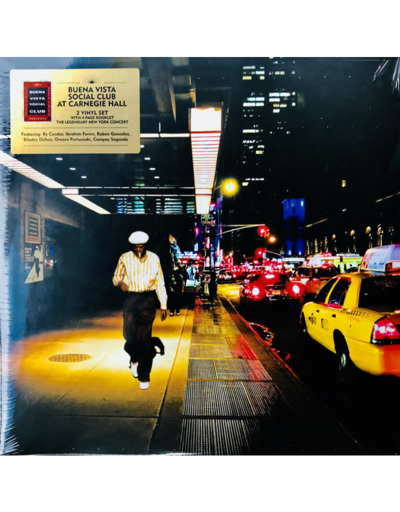 (Used LP) Buena Vista Social Club - At Carnegie Hall (2LP)