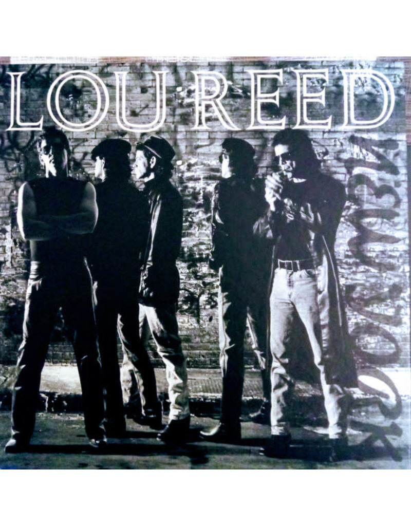 (Used LP+CD+DVD box set) Lou Reed - New York