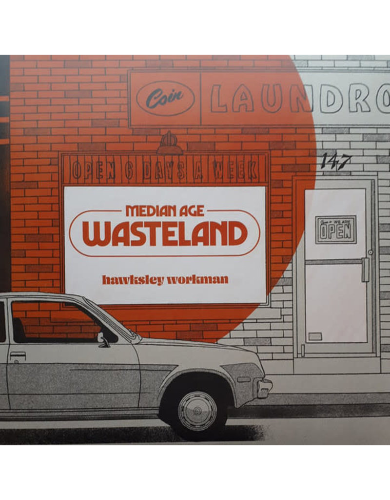 (used LP) Hawksley Workman – Median Age Wasteland