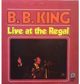 (Used LP) B.B. King – Live At The Regal (568)