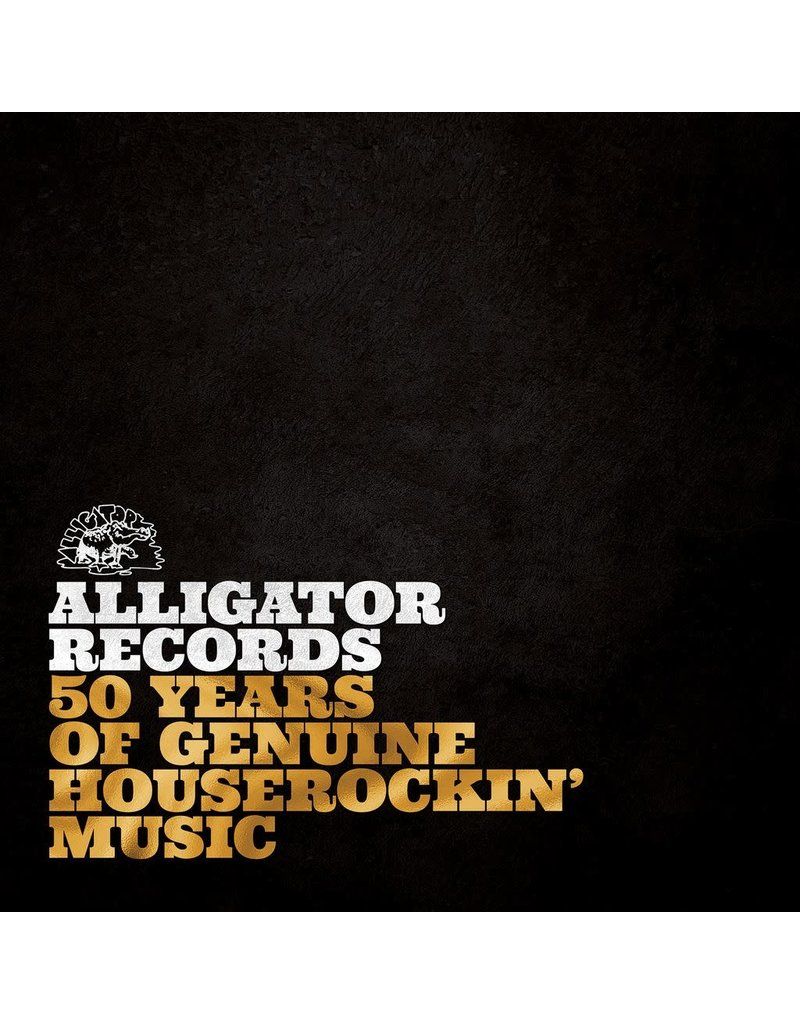 Alligator Records (CD) Various - Alligator Records 50 Years (3CD) Of Genuine Houserockin' Music