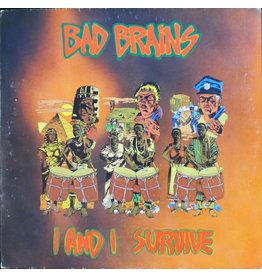 ORG Music (LP) Bad Brains - I And I Survive EP (2021 Reissue)