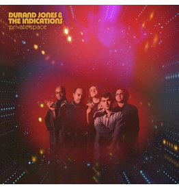 (LP) Durand  Jones & The Indications - Private Space (Indie: Red Nebula Vinyl)