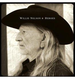 (LP) Willie Nelson -Heroes (2LP-black)