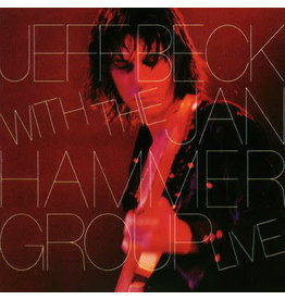(Used LP) Jeff Beck With The Jan Hammer Group – Live (568)