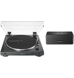 Audio Technica AT-LP60XSPBT-BK  Fully Automatic Bluetooth Turntable  with Speaker