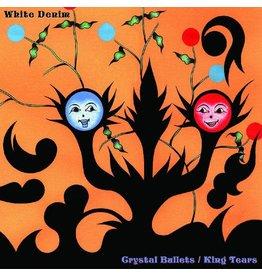 English Mallard (LP) White Denim - Crystal Bullets / King Tears  (Red & Blue Vinyl)
