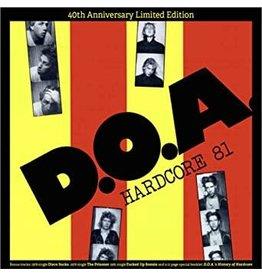 Sudden Death Records (LP) DOA - Hardcore '81 (40th anniversary edition-coloured vinyl/3 bonus tracks)
