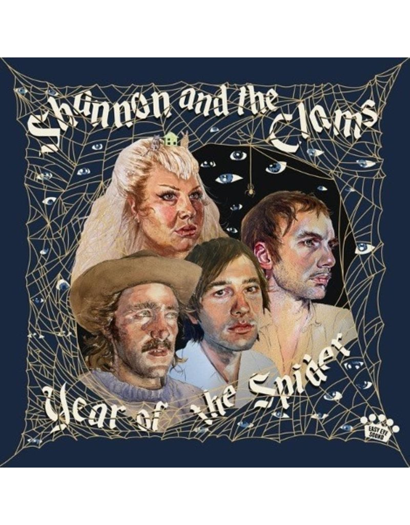 Easy Eye Sound (LP) Shannon & The Clams - Year Of The Spider (Tan Marble: Midnight Wine Indie)