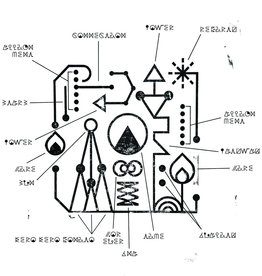 (LP) Kero Kero Bonito - Civilisation (EP) (metallic gold vinyl)