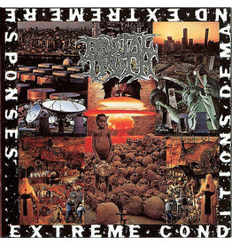 Earache (LP) Brutal Truth - Extreme Conditions Demand Extreme Responses (FDR edition/2021 Reissue))
