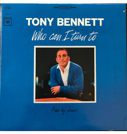 (Used LP) Tony Bennett – Who Can I Turn To (568)