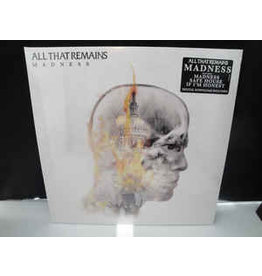 (Used LP) All That Remains - Madness (White/Gray Marble Vinyl)
