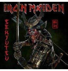 (LP) Iron Maiden - Senjutsu (3LP/red&black/indie shop edition))