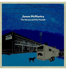 (LP) James McMurtry The Horses and the Hounds (Indie: Grey Vinyl)